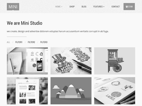 Mini Theme theme WordPress