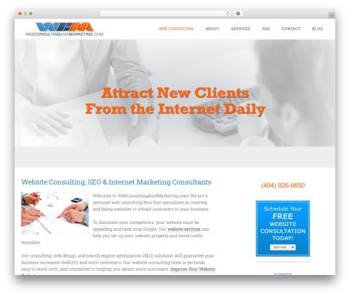 Minimum Pro WordPress website template - webconsultingandmarketing.com