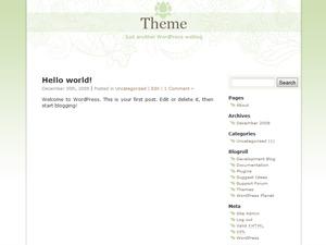 Mondo Zen Theme WordPress theme