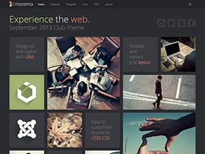 Moreno WordPress website template