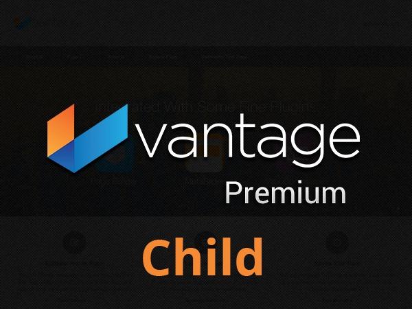 My Vantage Child Theme company WordPress theme