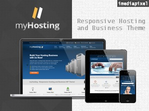 myHosting business WordPress theme