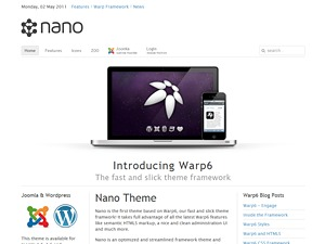 Nano best WordPress theme