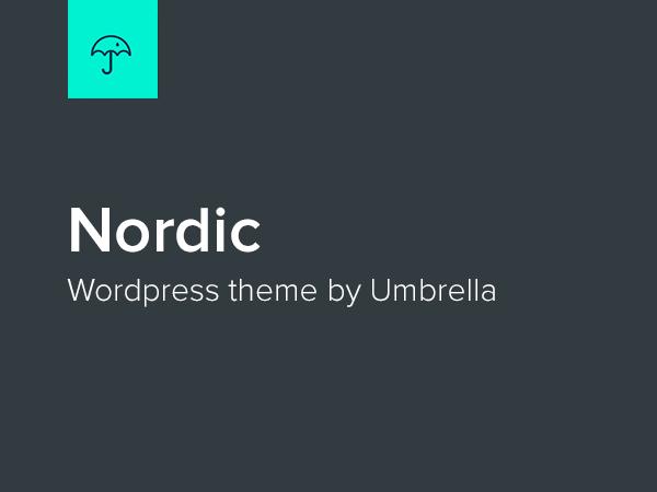 Nordic WordPress theme free download