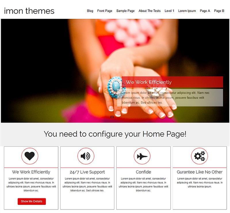 Nut WordPress template free download