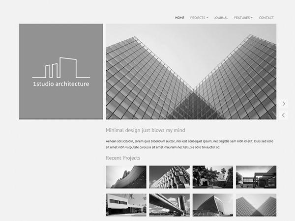 OneStudio WordPress theme