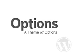 Options WordPress theme
