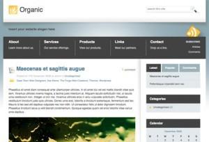 Organic Theme theme WordPress