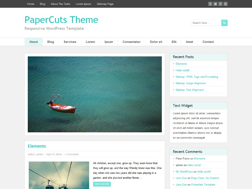 PaperCuts best WooCommerce theme