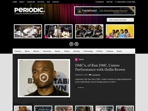 Periodic WordPress video template