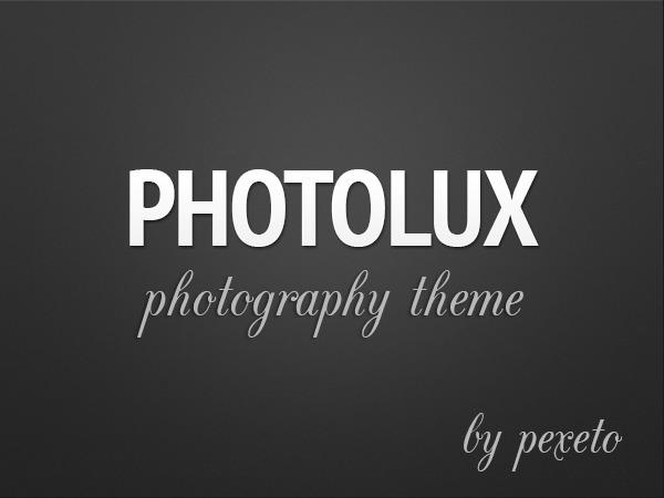Photolux WordPress theme image