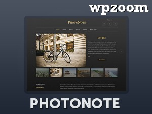 Photonote theme WordPress