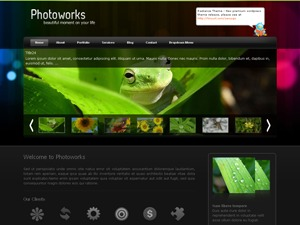 Photoworks3 wallpapers WordPress theme