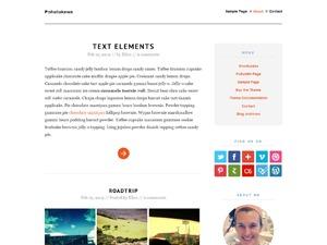 Pohutukawa WordPress blog theme