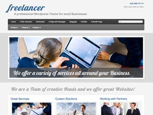 PRiNZ Freelancer CUSTOM business WordPress theme