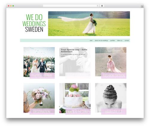 ProPhoto best wedding WordPress theme - wedoweddings.se