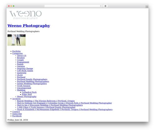 ProPhoto WordPress theme image - weenoblog.com