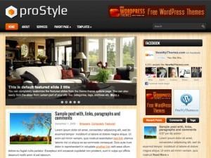 proStyle WordPress blog template