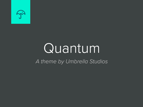 Quantum best WordPress template