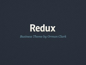 Redux company WordPress theme