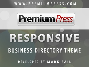Responsive Business Theme WordPress template for business
