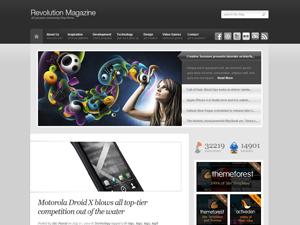 Revolution WordPress blog template
