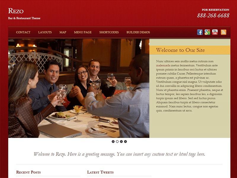 Rezo WordPress theme