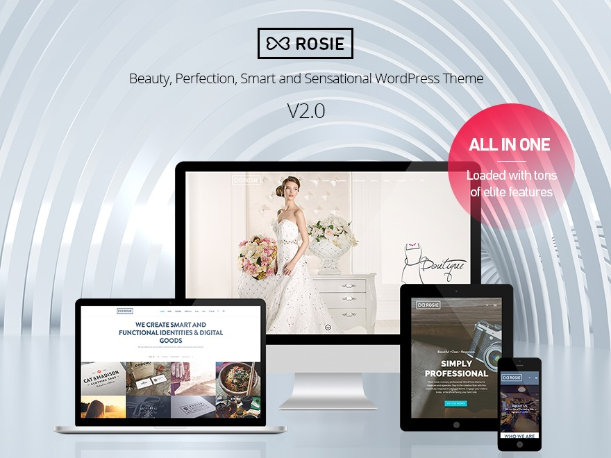 Rosie WordPress shopping theme