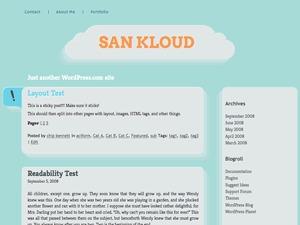 San Kloud WordPress blog theme