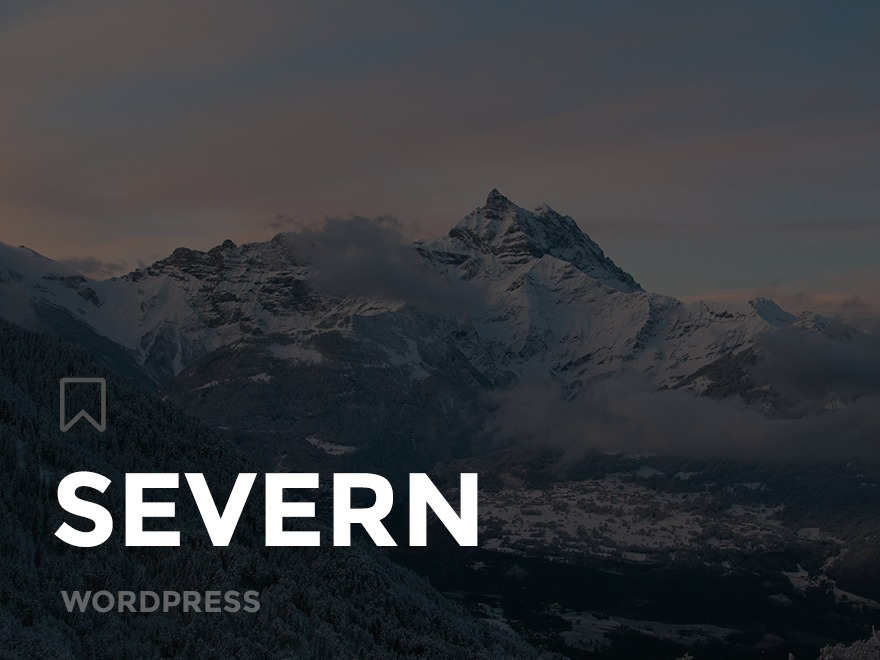 Severn theme WordPress
