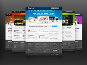 Showtime v3.3 WordPress page template