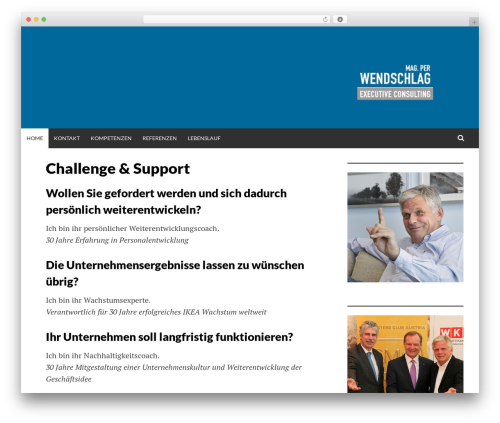 Simone top WordPress theme - wendschlag-consulting.com