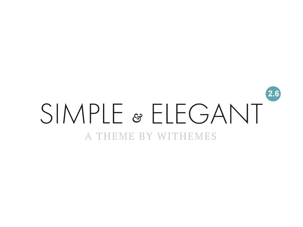 Simple & Elegant best WordPress theme