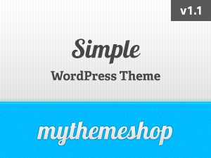 Simple theme WordPress
