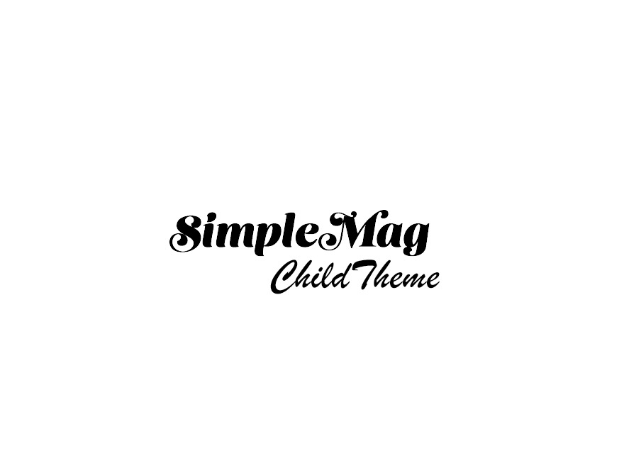 SimpleMag Child Theme WordPress news template