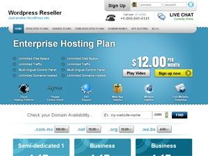 Simply Elegant WordPress template