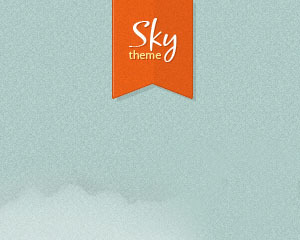 Sky top WordPress theme