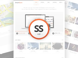 SmartStart WP - Responsive HTML5 Theme business WordPress theme
