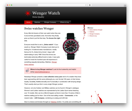 Stardust best WordPress theme - wengerwatch.eu
