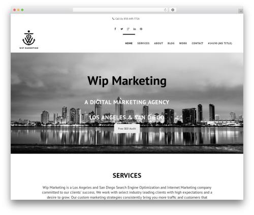Swenson WordPress blog theme - wipmarketing.com
