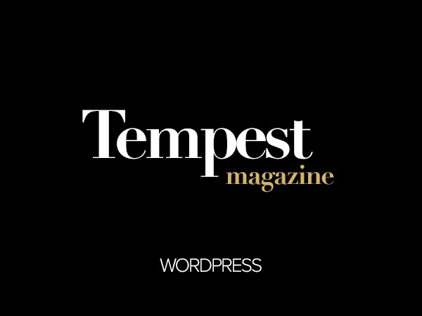 Tempest WP template