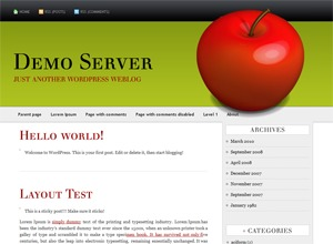 Template WordPress AppleX