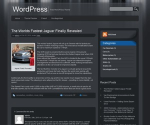 Template WordPress jarrah