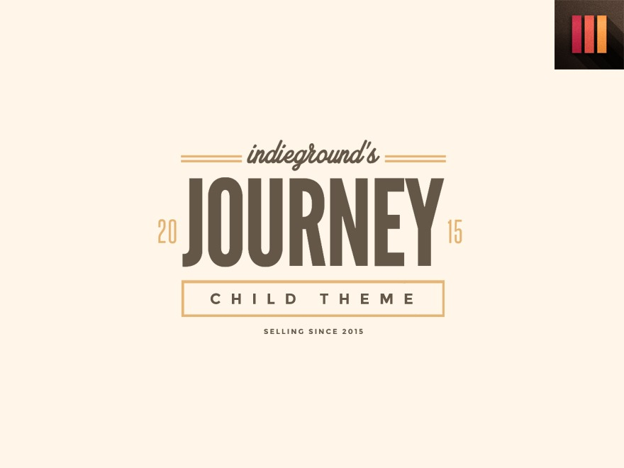 Template WordPress Journey Child
