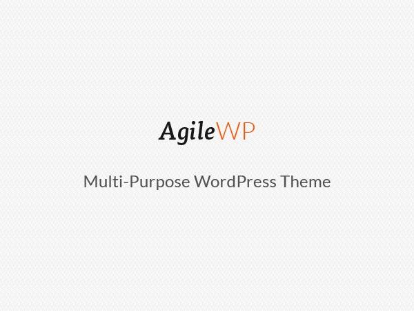 Theme WordPress Agile
