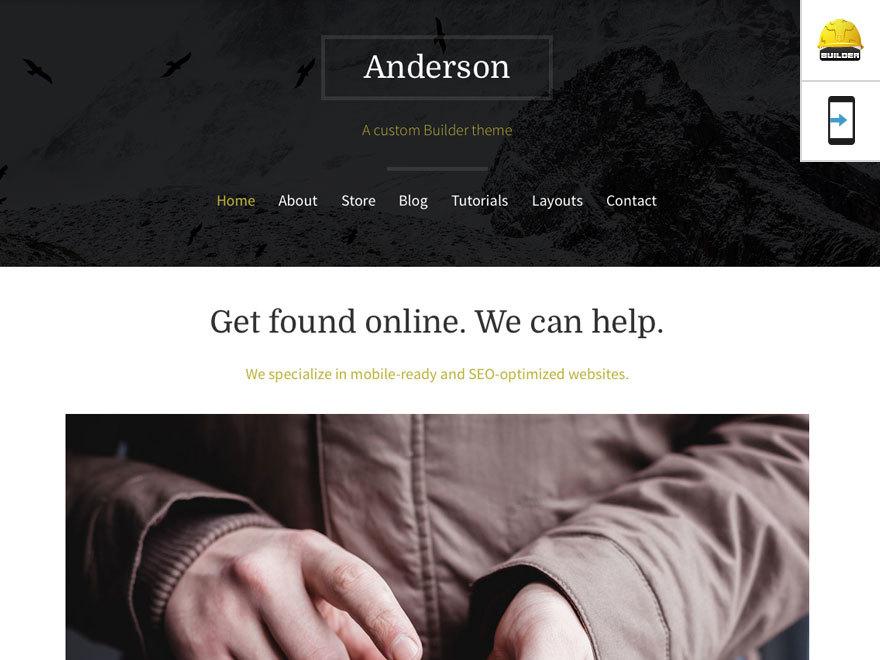 Theme WordPress Anderson