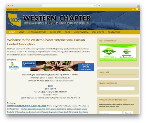 Theme WordPress BUILDER THEME - wcieca.org