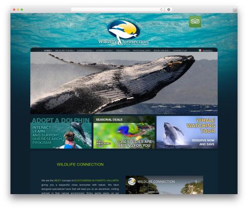 Theme WordPress Dandelion - wildlifeconnection.com