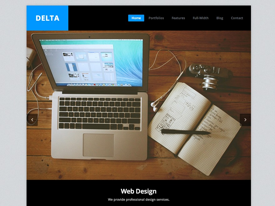 Theme WordPress Delta