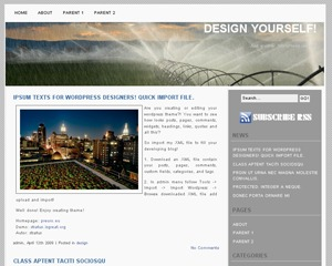 Theme WordPress Indore